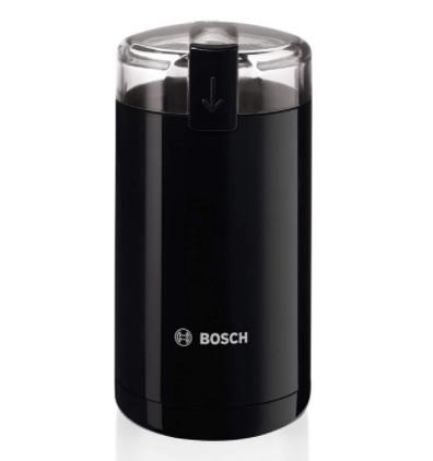 Bosch - Molinillo de café eléctrico, 180 W, capacidad 75 gramos, color negro